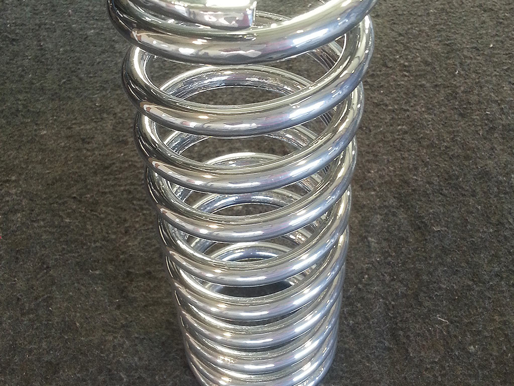 Powder Coating Springs