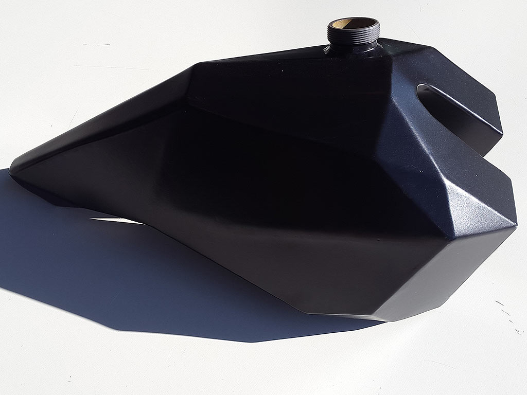 Powder Coated Petrol Tanks